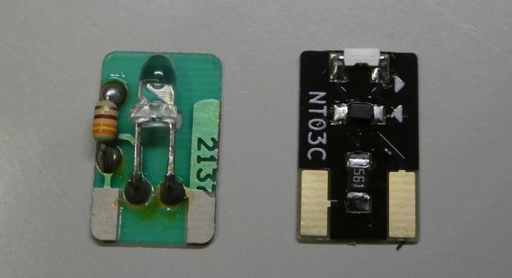 tomix EH500 LED基板、クリエイト工房LED基板