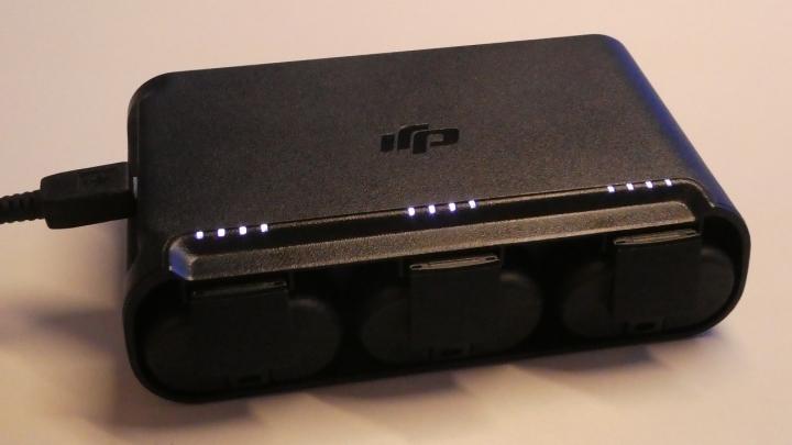 MAVIC MINIバッテリーフル充電状態