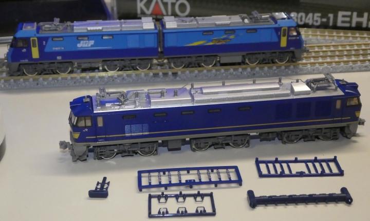 tomix EF510 JR貨物塗装