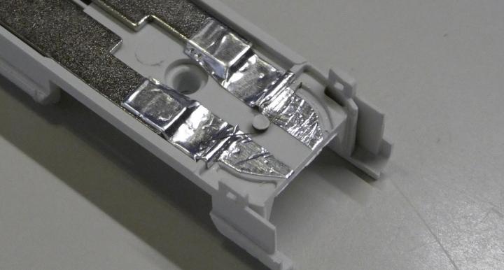 MicroAce新幹線(East-i)通電カプラー化改良版