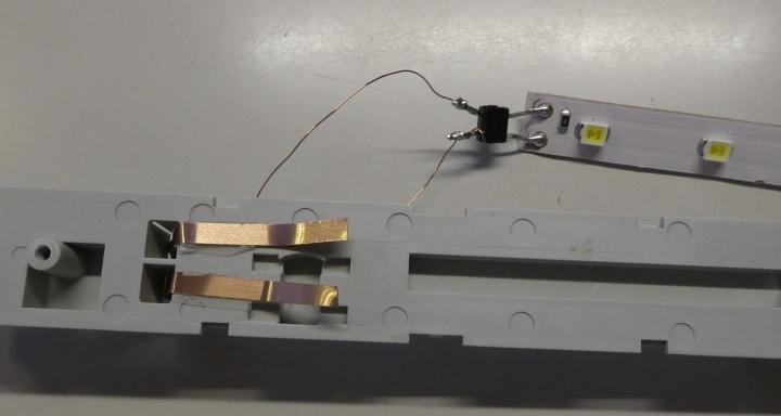 MicroAce East-iテープLED室内灯組み込み