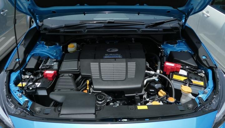 スバルXVエンジン