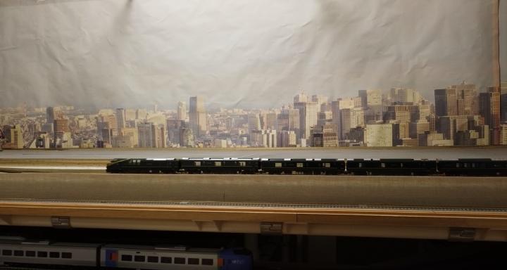 MAVIC MINIで撮影した鉄道模型レイアウト