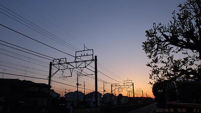 20200406-1 夕焼け