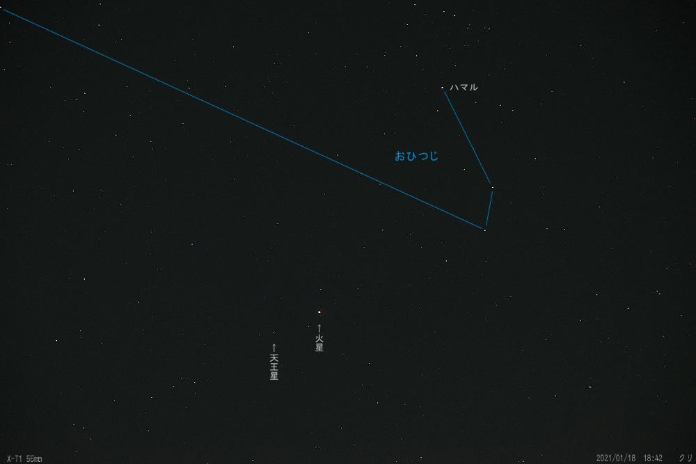 20210119-おひつじ座・火星・天王星