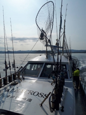 日本海爆釣!アルバトロス船長有難う御座いました。