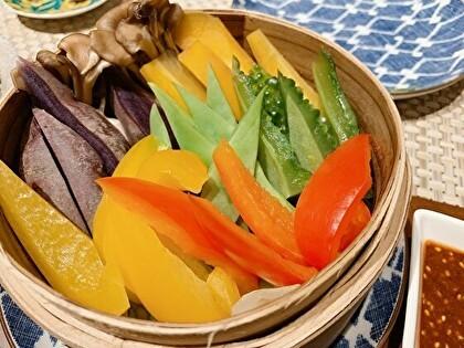 沖縄野菜のせいろ蒸し