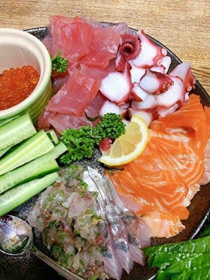 手巻き寿司の具1