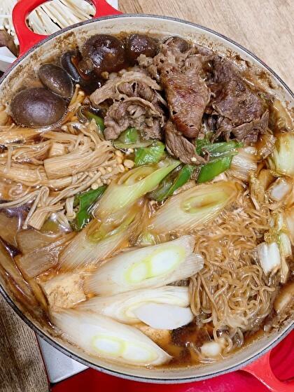 米沢牛ですき焼き