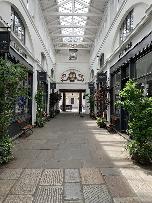 Empty Covent Garden