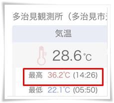 0905気温