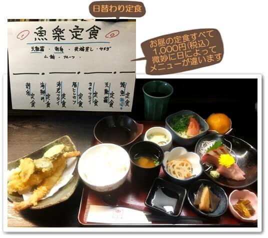 魚楽定食1118
