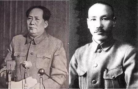 蔣介石毛澤東