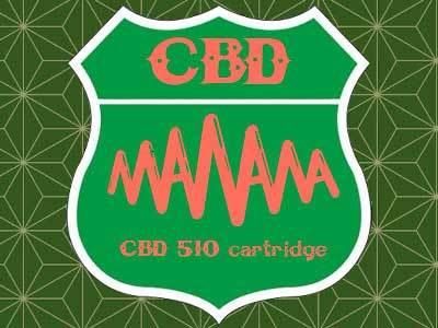 manana blog/マニャーナの取扱う CBD 510 Cartridge、510接続のアトマイザーに入ったCBD