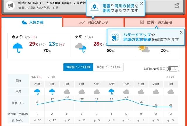 天気予報 20200906_S-size