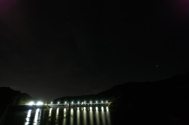 伊良原ダム 流星なし