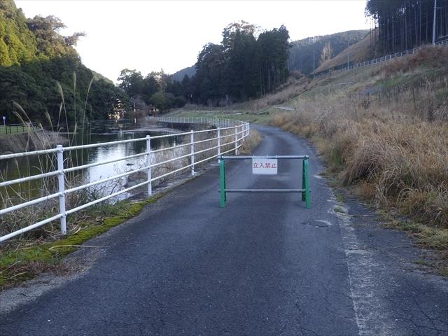 ダムの上流