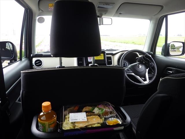 XBEE 車内でお弁当