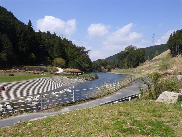 伊良原ダム上流