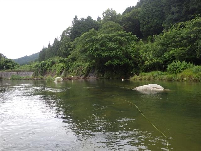 祓川ほたるの里公園上流