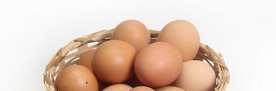 バスケット入った鶏卵A