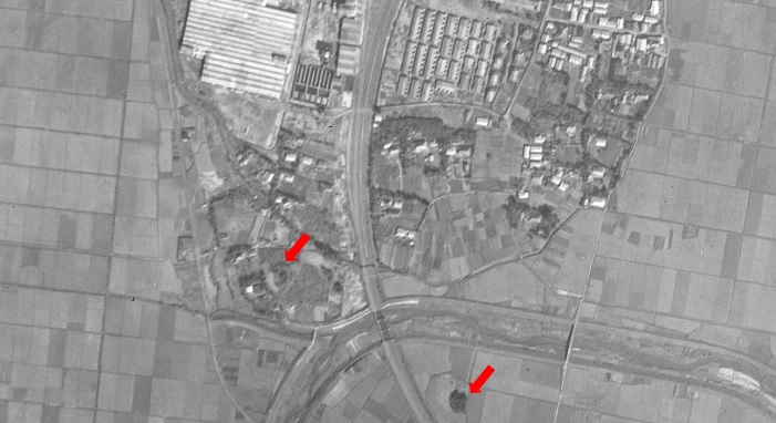 03 19461010_USA M283-A-10米軍航空写真(「地図・空中写真閲覧サービス」 国土地理院より)