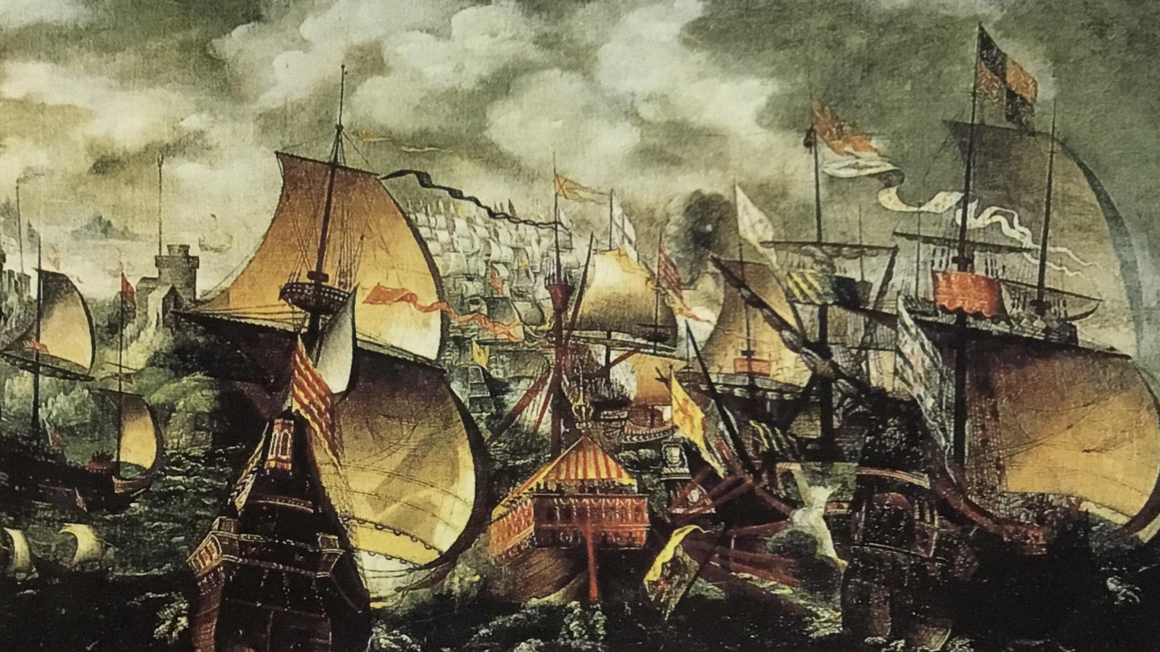 アルマダ海戦(1588年)   仰陽記