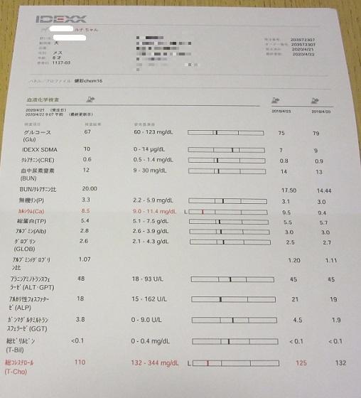 健診結果200430②