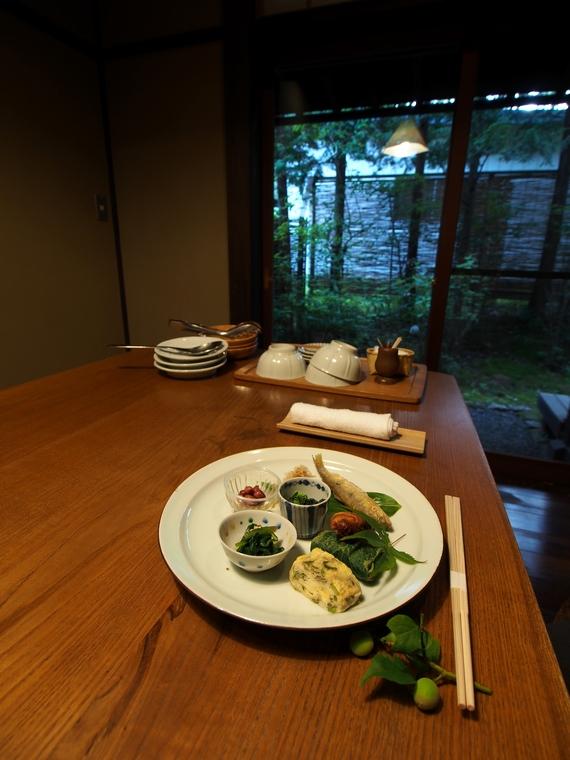 三水館 夕食