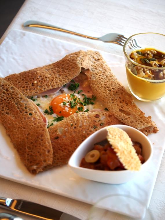 オーベルジュラヴィトランキーユ 朝食