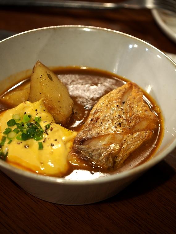 ランプールの魚のスープ