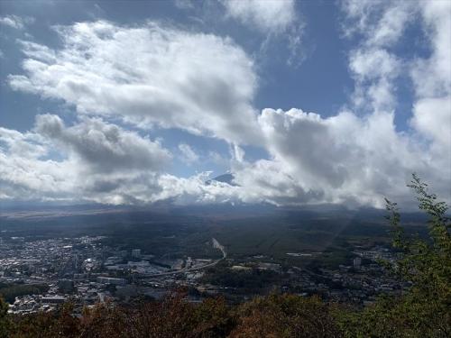 富士山展望台から見えなーい富士山