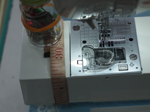 ミシン 筒縫いの部分 30cm