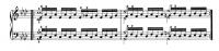 チェルニー『毎日の練習曲』6番~第3リピート