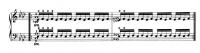 チェルニー『毎日の練習曲』6番~第2リピート