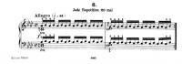 チェルニー『毎日の練習曲』6番~第1リピート
