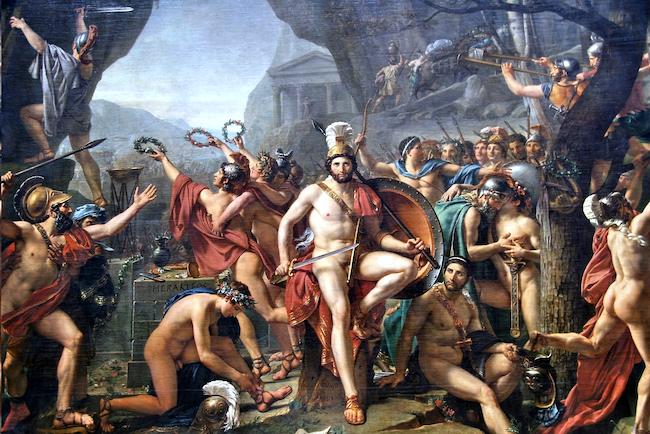 20200830 テルモピュライの戦いのレオニダス王