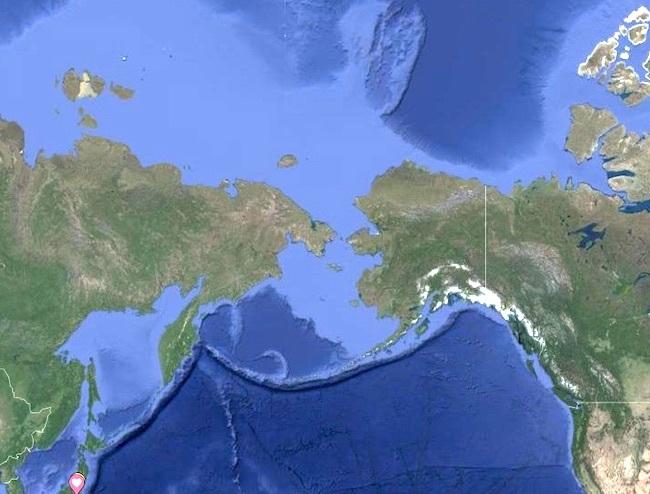 20200901 ベーリング海峡