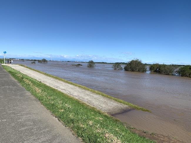 20200917 増水した利根川