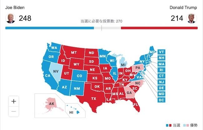 20201105 大統領選