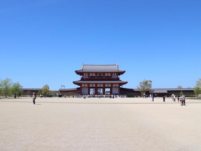 202010122 平城京朱雀門