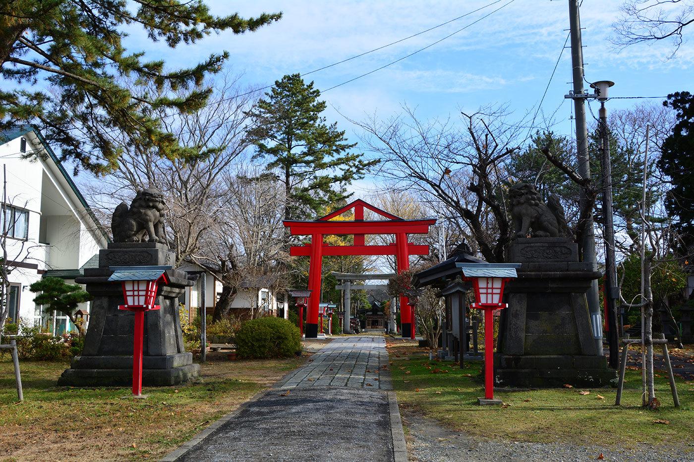 能代市御指南町 日吉神社220201119