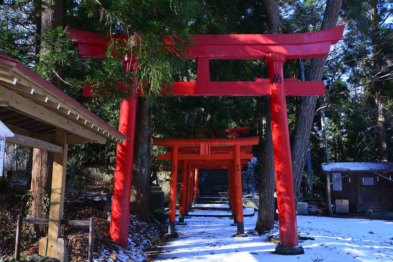 能代市日和山下 大森稲荷神社220201227