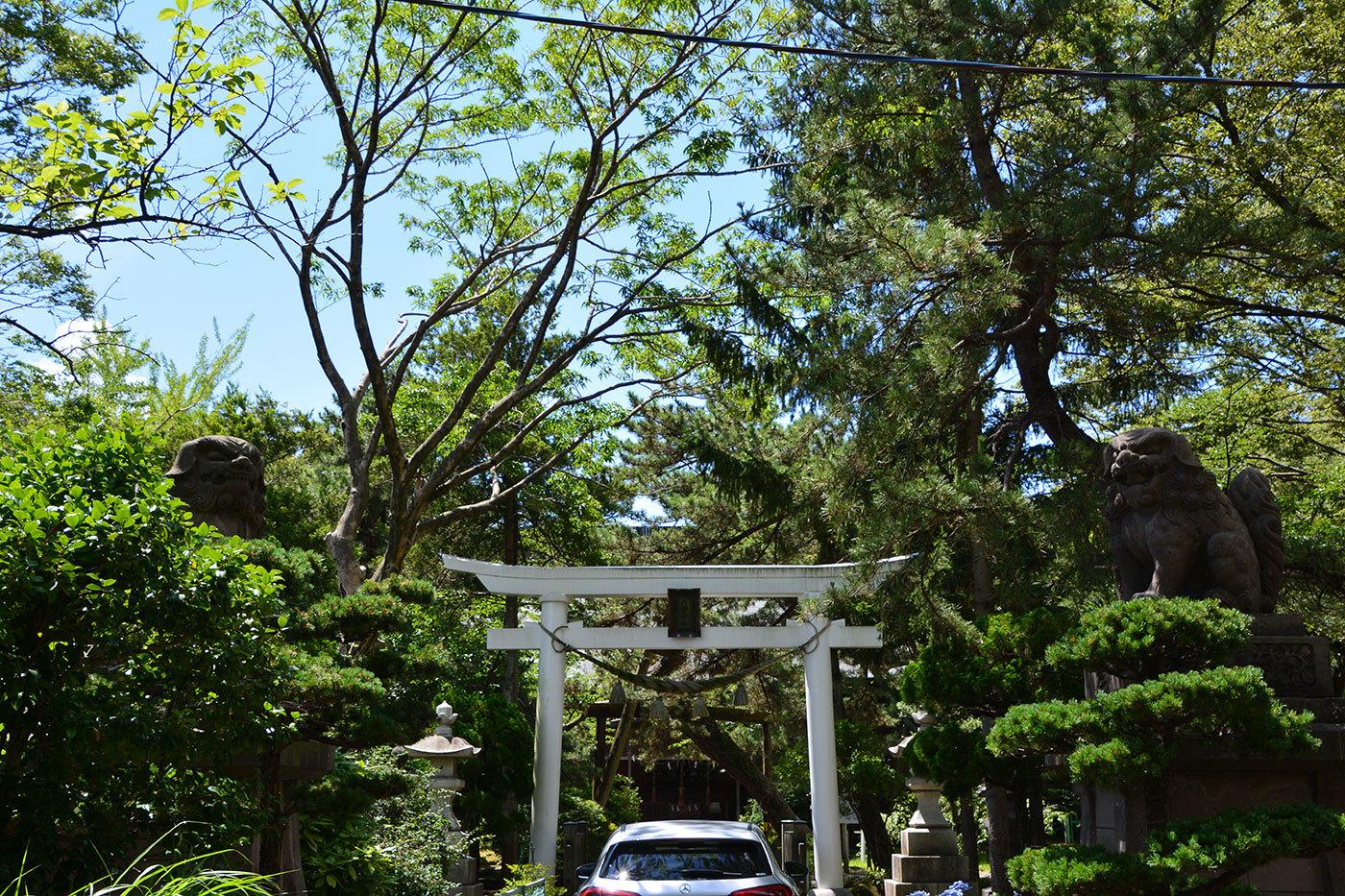 能代市柳町 八幡神社120200801