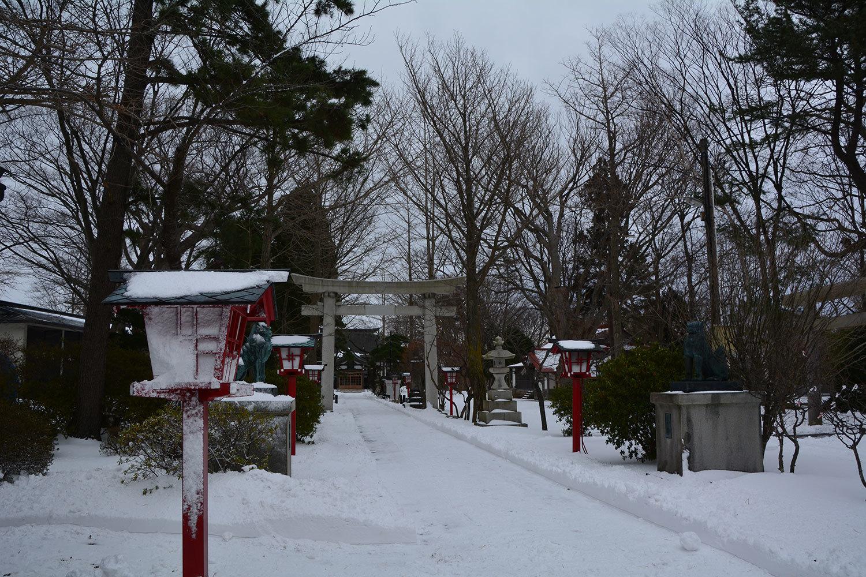 能代市御指南町 日吉神社420201221