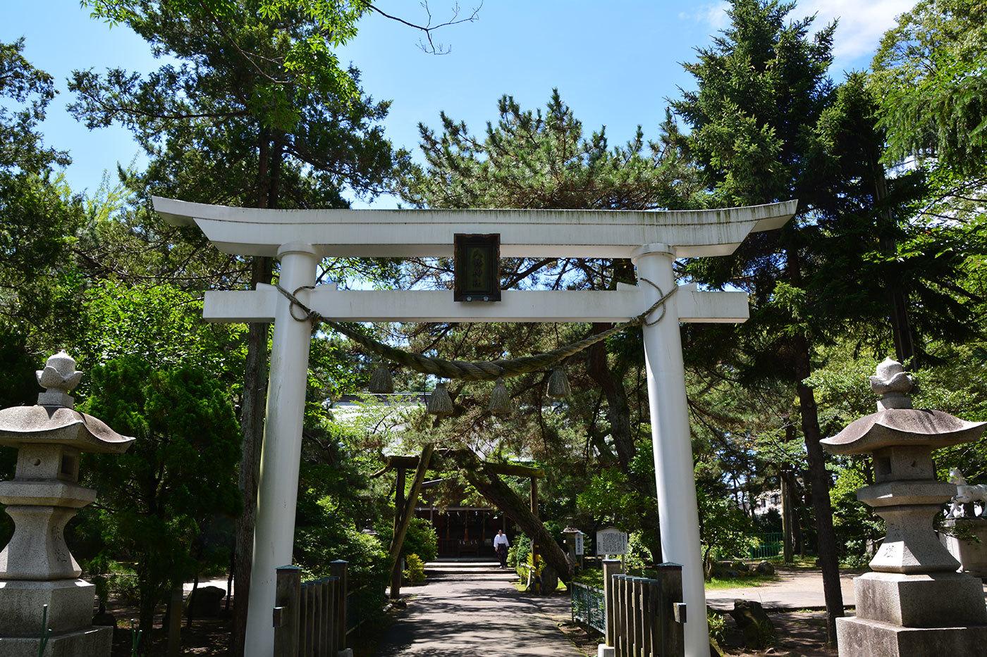 能代市柳町 八幡神社220200801