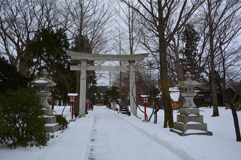 能代市御指南町 日吉神社520201221