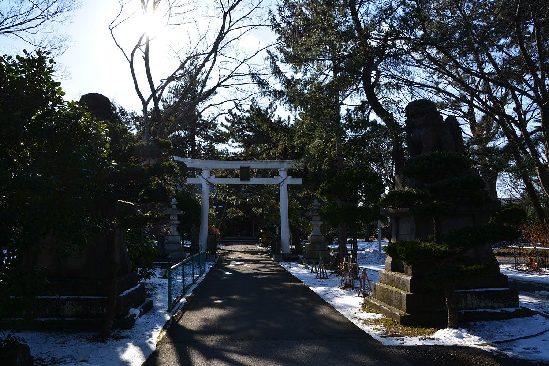 能代市柳町 八幡神社120201227