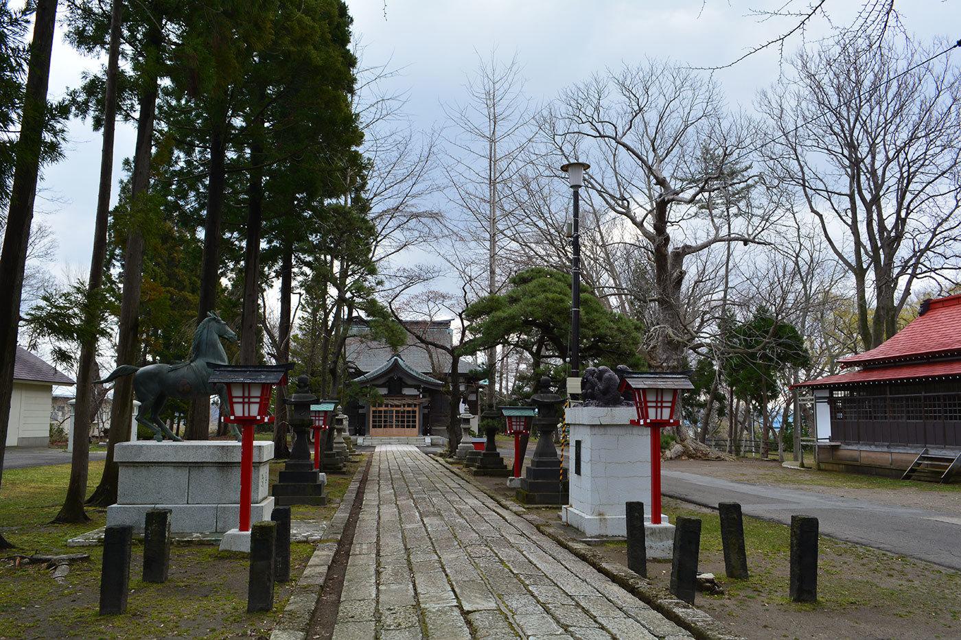 能代市御指南町 日吉神社620200412