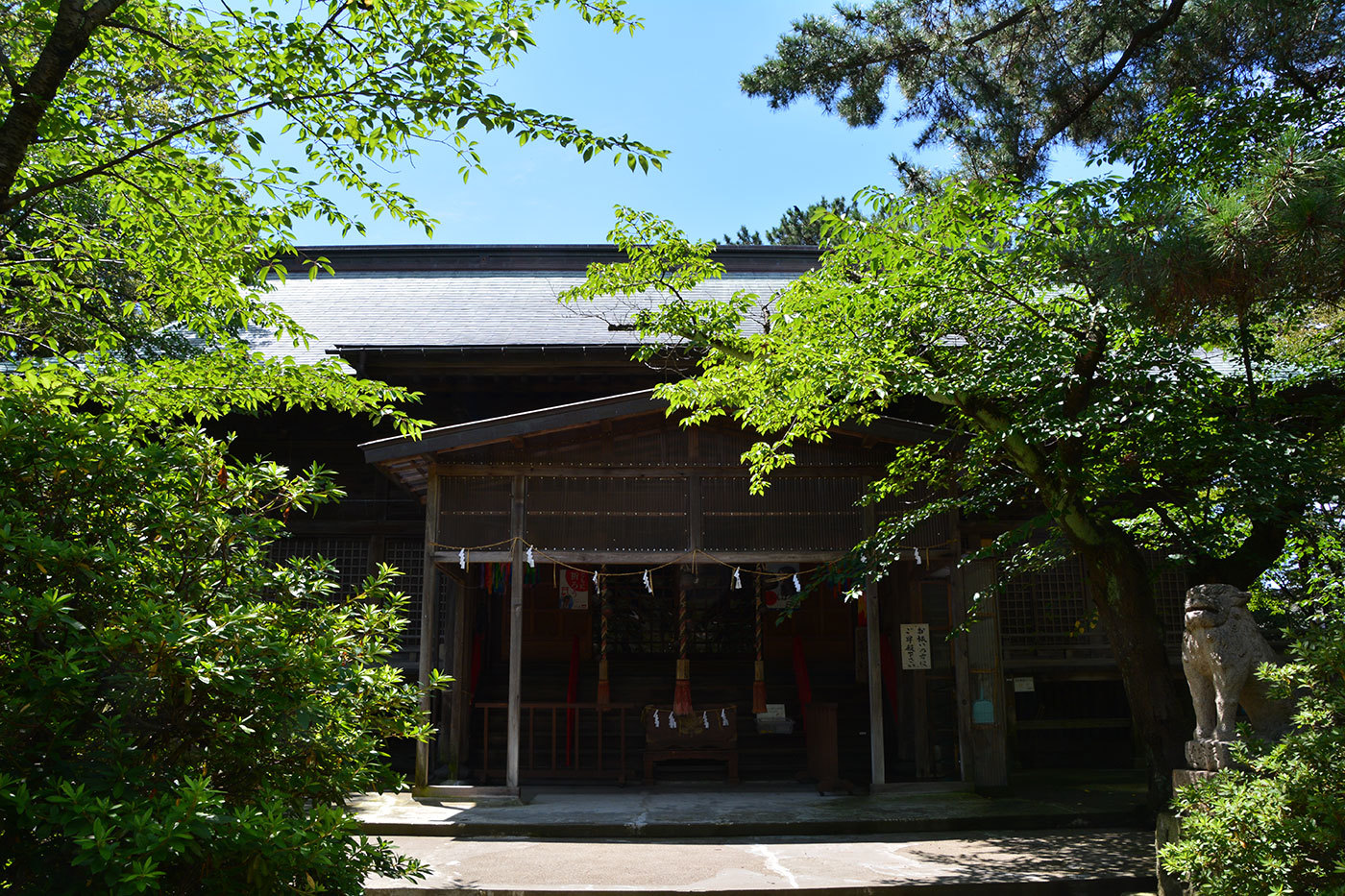 能代市柳町 八幡神社420200801